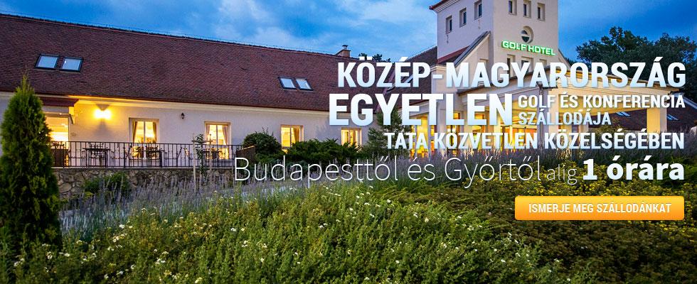 Old Lake Golf Hotel  Közép-Magyarország egyetlen golf és konferencia szállodája