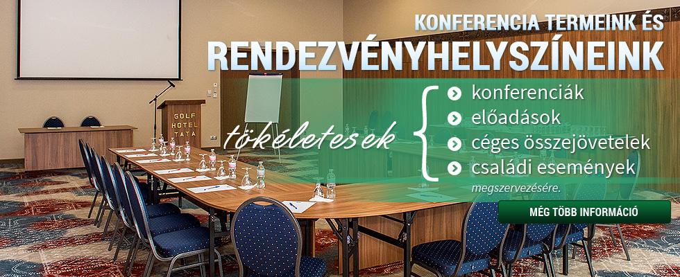 Konferencia és rendezvény